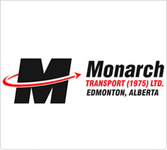 The Monarch Transport banner